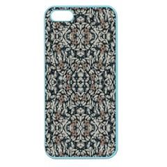 Ornate Pattern Mosaic Apple Seamless Iphone 5 Case (color) by dflcprints