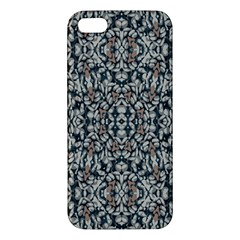 Ornate Pattern Mosaic Apple Iphone 5 Premium Hardshell Case by dflcprints