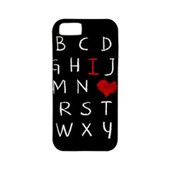 Love Alphabet Apple Iphone 5 Classic Hardshell Case (pc+silicone) by Valentinaart
