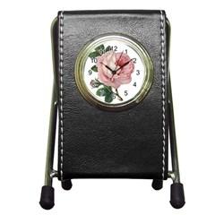 Rose 1078272 1920 Pen Holder Desk Clocks by vintage2030