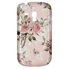 Pink Shabby Chic Floral Galaxy S3 Mini by 8fugoso
