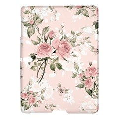Pink Shabby Chic Floral Samsung Galaxy Tab S (10 5 ) Hardshell Case  by 8fugoso
