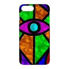 Illuminati Abstract Apple Iphone 7 Plus Hardshell Case by vwdigitalpainting