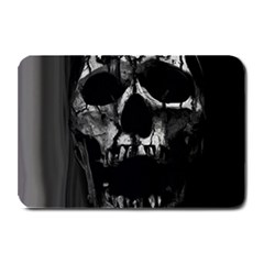 Black And Grey Nightmare Plate Mats by vwdigitalpainting