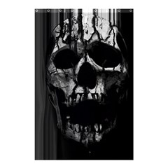 Black And Grey Nightmare Shower Curtain 48  X 72  (small)  by vwdigitalpainting