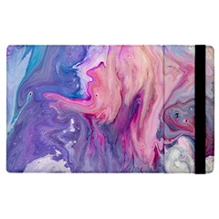 Marbled,ultraviolet,violet,purple,pink,blue,white,stone,marble,modern,trendy,beautiful Apple Ipad Pro 9 7   Flip Case by 8fugoso