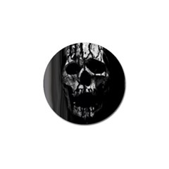 Black And Grey Nightmare Golf Ball Marker (4 Pack) by vwdigitalpainting