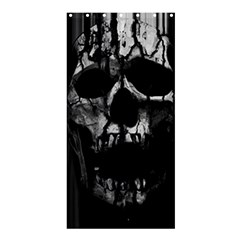 Black And Grey Nightmare Shower Curtain 36  X 72  (stall)  by vwdigitalpainting