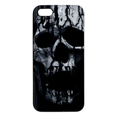 Black And Grey Nightmare Iphone 5s/ Se Premium Hardshell Case by vwdigitalpainting