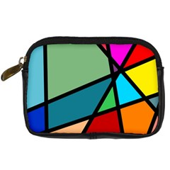 Modern Abstract Digital Camera Cases by vwdigitalpainting
