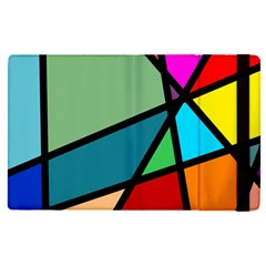 Modern Abstract Apple Ipad Pro 9 7   Flip Case by vwdigitalpainting
