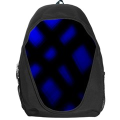 Abstract Plaid Backpack Bag by vwdigitalpainting