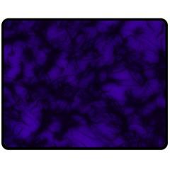 Midnight Fleece Blanket (medium)  by vwdigitalpainting