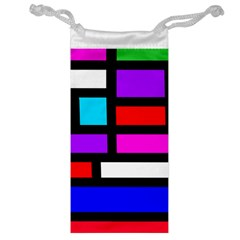 Dutch Modern Abstract Jewelry Bag by vwdigitalpainting
