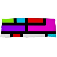 Dutch Modern Abstract Body Pillow Case Dakimakura (two Sides) by vwdigitalpainting
