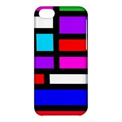 Dutch Modern Abstract Apple Iphone 5c Hardshell Case by vwdigitalpainting