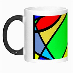 Abstract Curves Morph Mugs by vwdigitalpainting