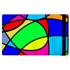 Abstract Curves Apple Ipad Pro 9 7   Flip Case by vwdigitalpainting