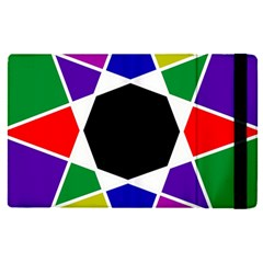Compass Abstract Apple Ipad Pro 9 7   Flip Case by vwdigitalpainting