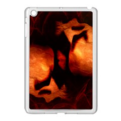 Of Two Minds Apple Ipad Mini Case (white) by vwdigitalpainting