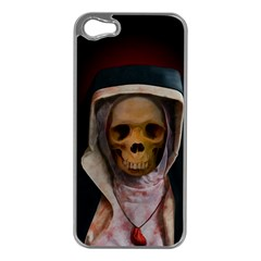 Save My Soul Apple Iphone 5 Case (silver) by vwdigitalpainting