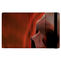 Power Apple Ipad Pro 9 7   Flip Case by vwdigitalpainting