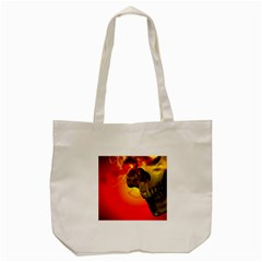 Flare Tote Bag (cream) by vwdigitalpainting