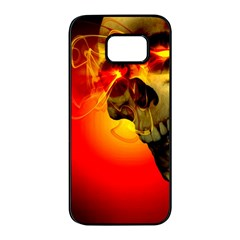 Flare Samsung Galaxy S7 Edge Black Seamless Case by vwdigitalpainting