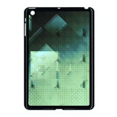 Mc Escher Inspired Fractal Pattern Apple Ipad Mini Case (black) by douxsurmoi
