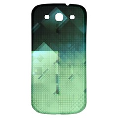 Mc Escher Inspired Fractal Pattern Samsung Galaxy S3 S Iii Classic Hardshell Back Case