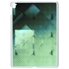 Mc Escher Inspired Fractal Pattern Apple Ipad Pro 9 7   White Seamless Case by douxsurmoi
