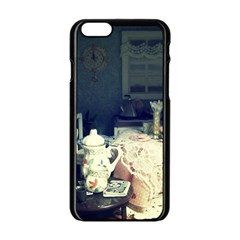 Abandonded Dollhouse Apple Iphone 6/6s Black Enamel Case by snowwhitegirl