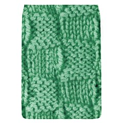 Knitted Wool Square Green Flap Covers (s)  by snowwhitegirl