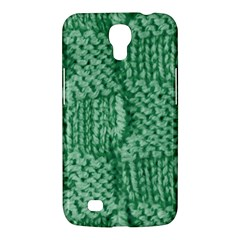 Knitted Wool Square Green Samsung Galaxy Mega 6 3  I9200 Hardshell Case by snowwhitegirl