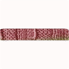 Knitted Wool Square Pink Green Small Bar Mats by snowwhitegirl