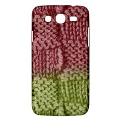 Knitted Wool Square Pink Green Samsung Galaxy Mega 5 8 I9152 Hardshell Case  by snowwhitegirl