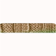 Knitted Wool Square Beige Green Small Bar Mats by snowwhitegirl