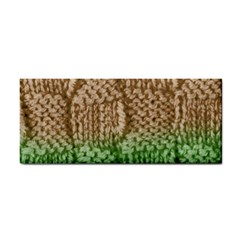 Knitted Wool Square Beige Green Cosmetic Storage Cases by snowwhitegirl
