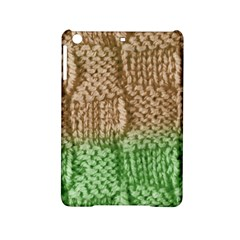 Knitted Wool Square Beige Green Ipad Mini 2 Hardshell Cases by snowwhitegirl
