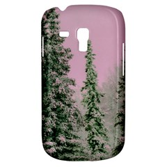 Winter Trees Pink Galaxy S3 Mini by vintage2030