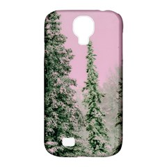 Winter Trees Pink Samsung Galaxy S4 Classic Hardshell Case (pc+silicone) by vintage2030