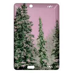 Winter Trees Pink Amazon Kindle Fire Hd (2013) Hardshell Case by vintage2030