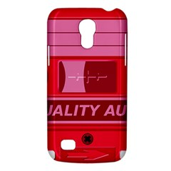 Red Cassette Galaxy S4 Mini by vintage2030