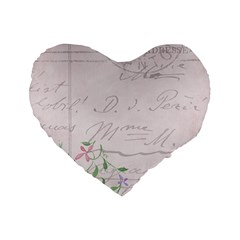 Background 1071141 1920 Standard 16  Premium Flano Heart Shape Cushions by vintage2030