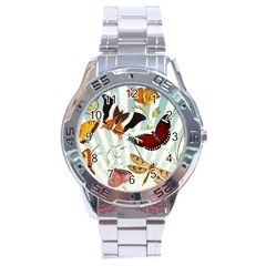 Butterfly 1064147 1920 Stainless Steel Analogue Watch by vintage2030