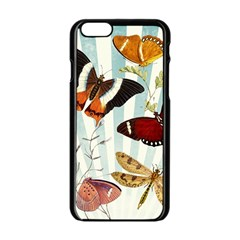 Butterfly 1064147 1920 Apple Iphone 6/6s Black Enamel Case by vintage2030