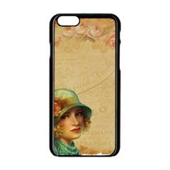 Old 1064510 1920 Apple Iphone 6/6s Black Enamel Case by vintage2030