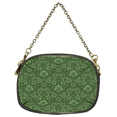 Damask Green Chain Purses (one Side)  by vintage2030
