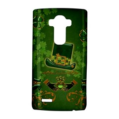 Happy St  Patrick s Day With Clover Lg G4 Hardshell Case by FantasyWorld7