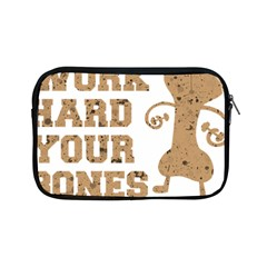 Work Hard Your Bones Apple Ipad Mini Zipper Cases by Melcu